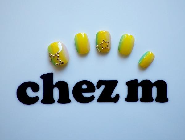 IMGP1414 nail salon chez m modeles nail art degrade certical etoiles