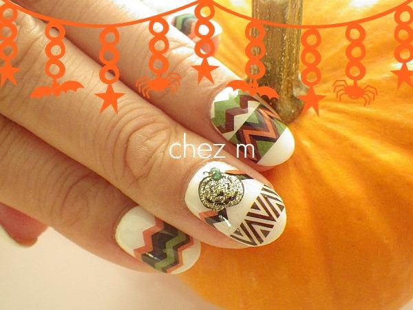IMGP1601 nail art de nail salon chez m nail art Halloween
