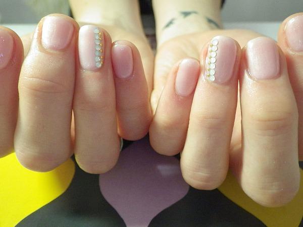 Mod le nail art nail artist japonaise nantes chez m tokyo gel nail uv nail art original - Nail art discret ...