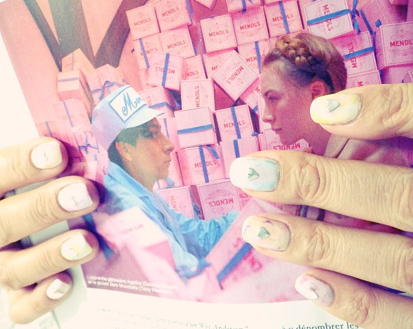 Nail art sweet tie dye nail artist japonaise for Salon prothesiste ongulaire