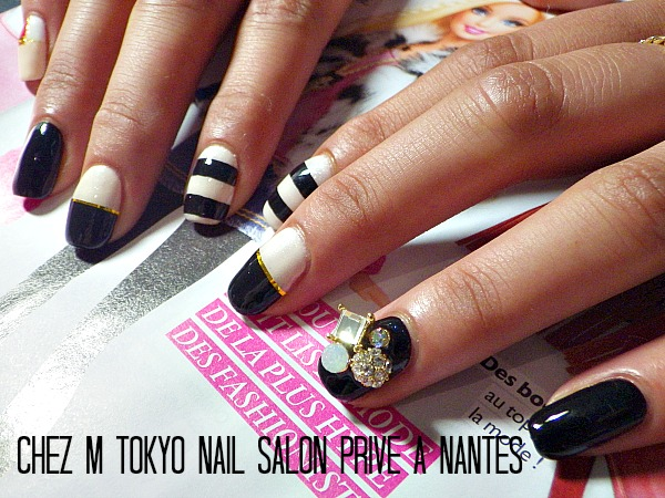 nail art chic nail artist japonaise nantes chez m. Black Bedroom Furniture Sets. Home Design Ideas