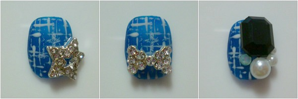 modeles nail art tweed 2